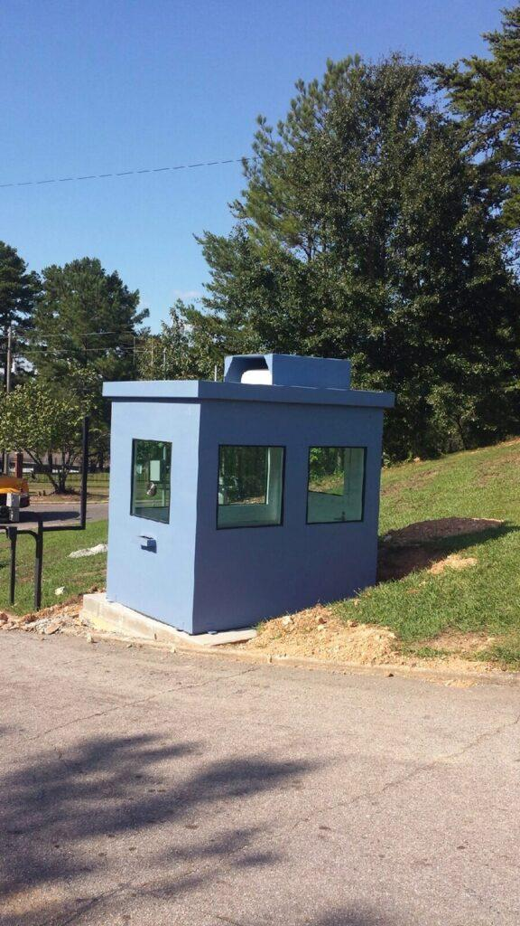 private security guard house