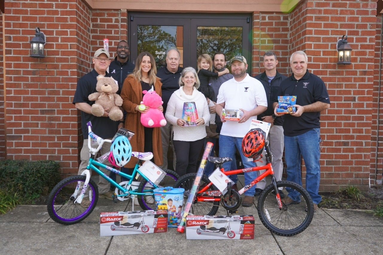 OSA Office Pic - Toys for Tots